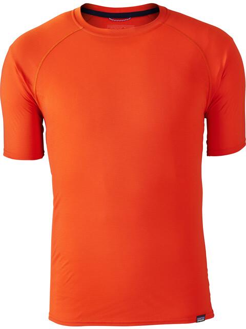 Patagonia Capilene Lightweight T-Shirt Men Paintbrush Red